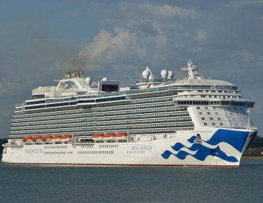 Hythe Marina Village southampton cruise ship royal princess