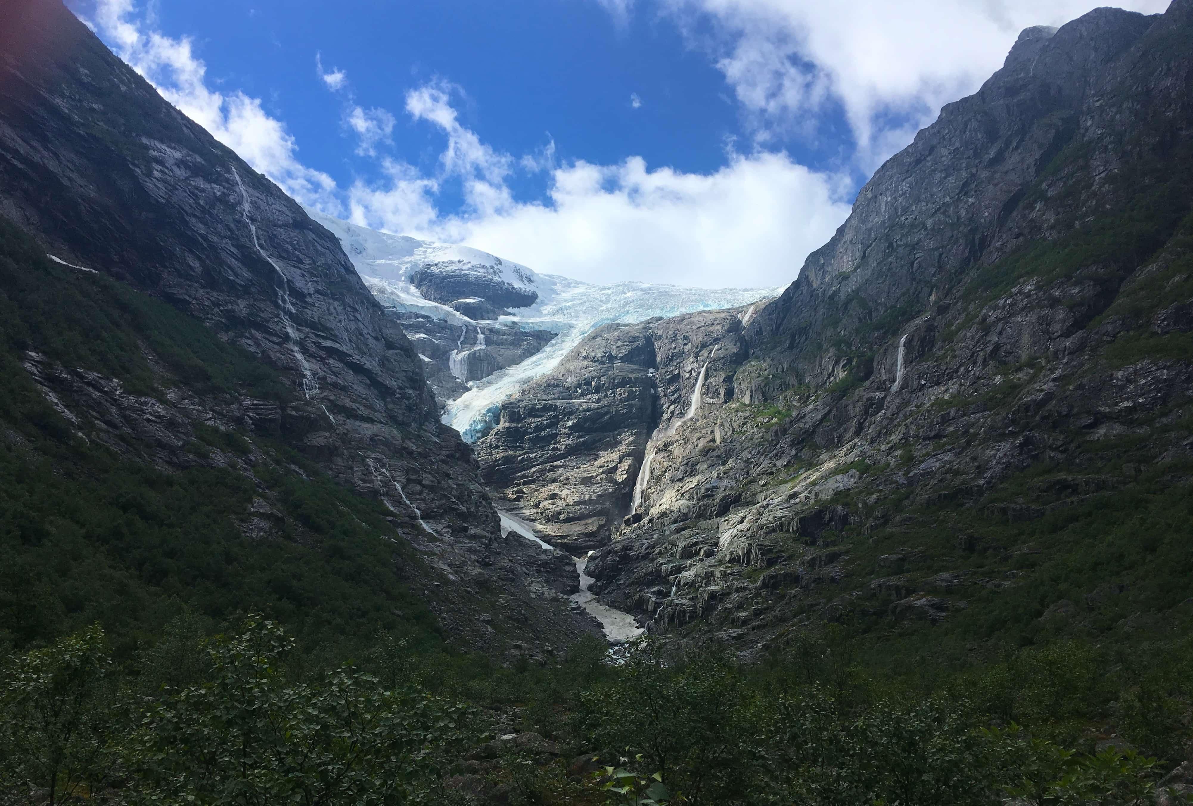 norwegian fjords stavanger briksdal glacier p&o britannia