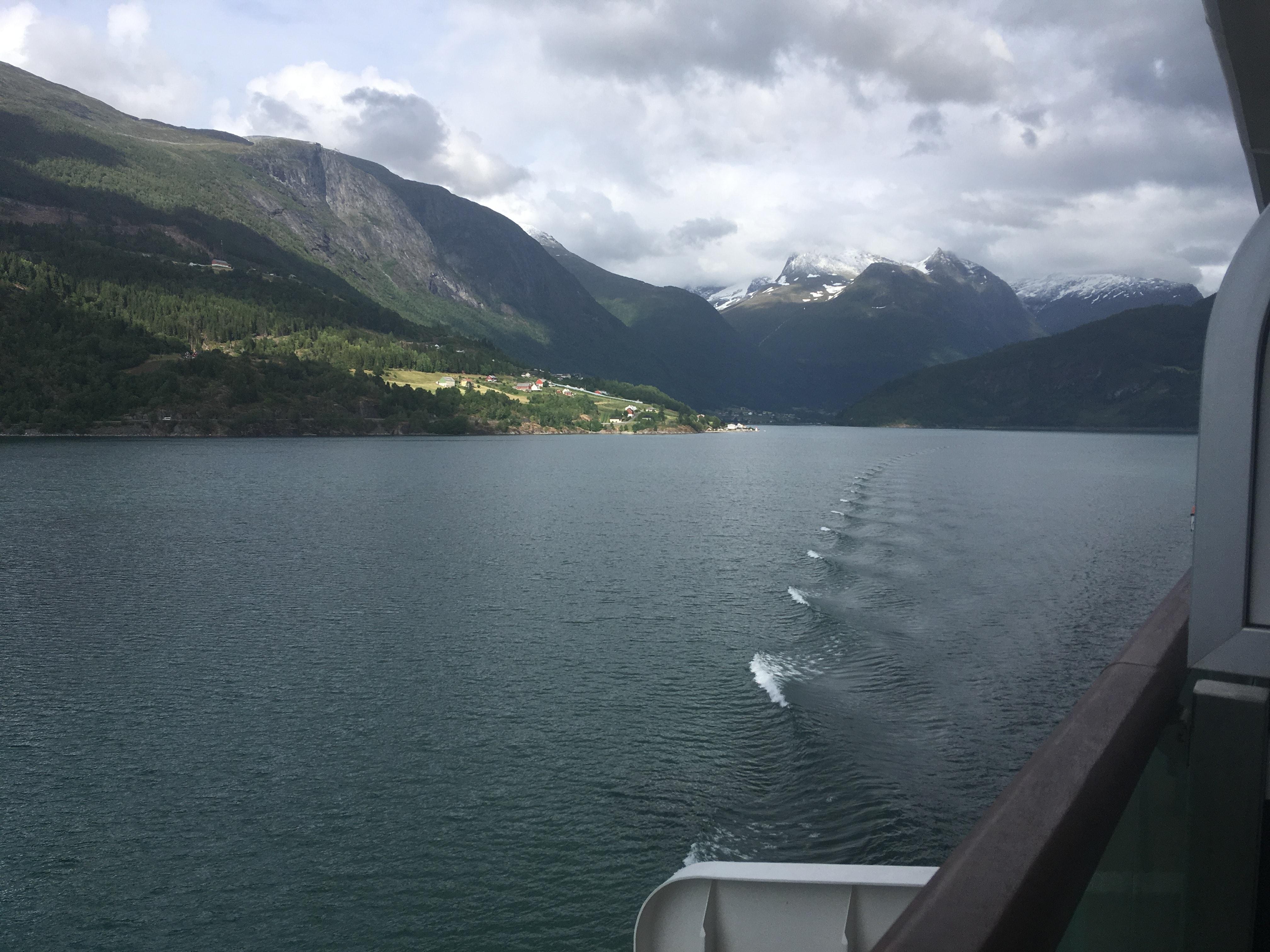 norwegian fjords sail away p&o britannia