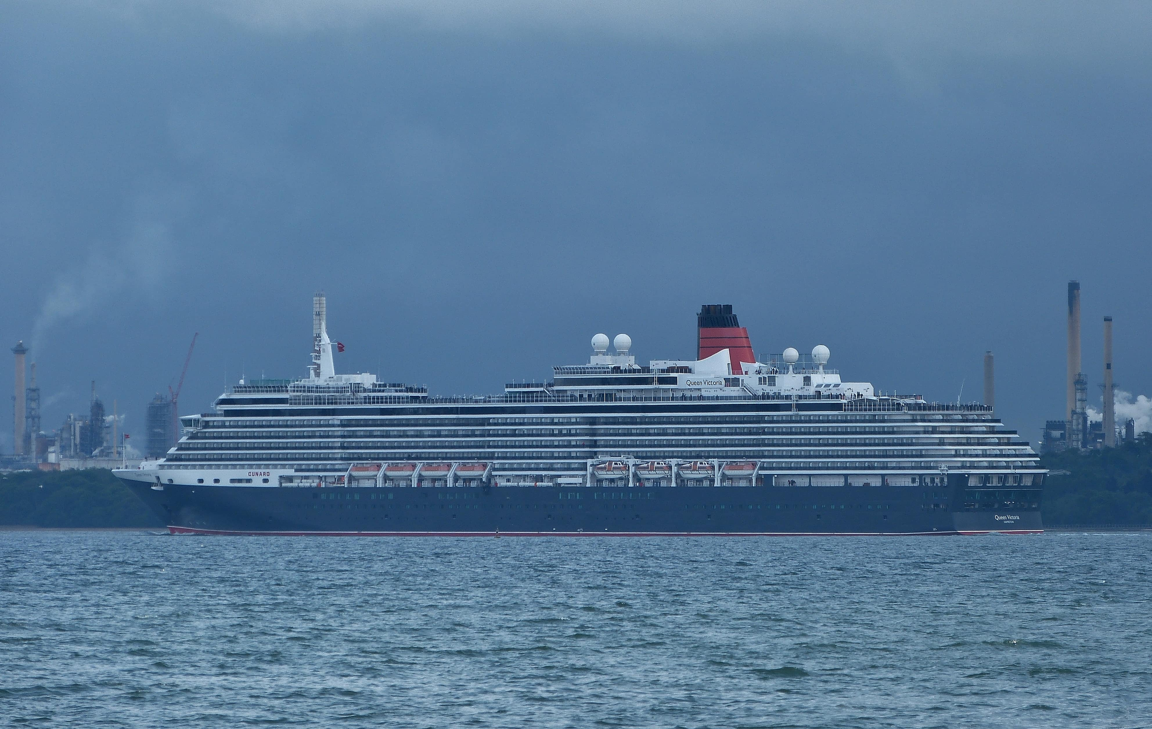 Weston Shore southampton cruise ship queen victoria