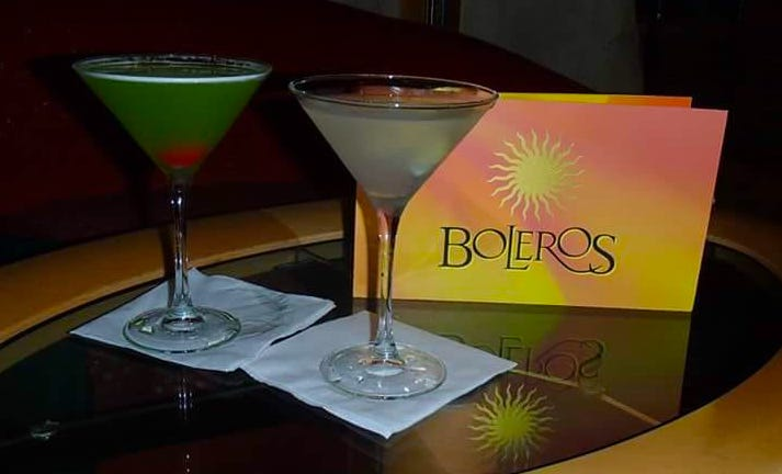 royal Caribbean drinks package whats included boleros menu