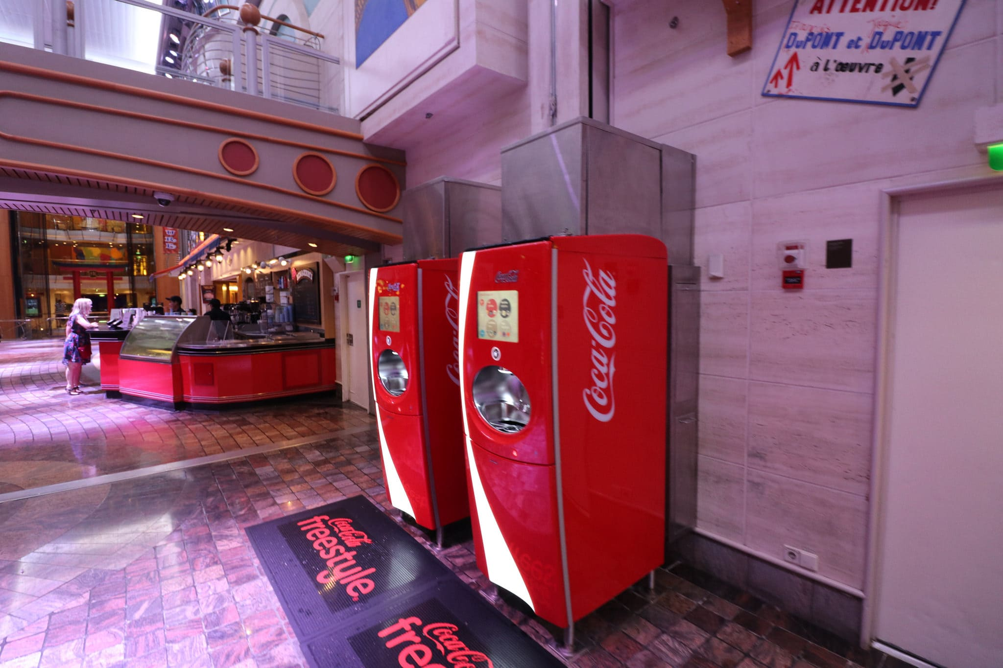royal Caribbean drinks package whats included soda machines