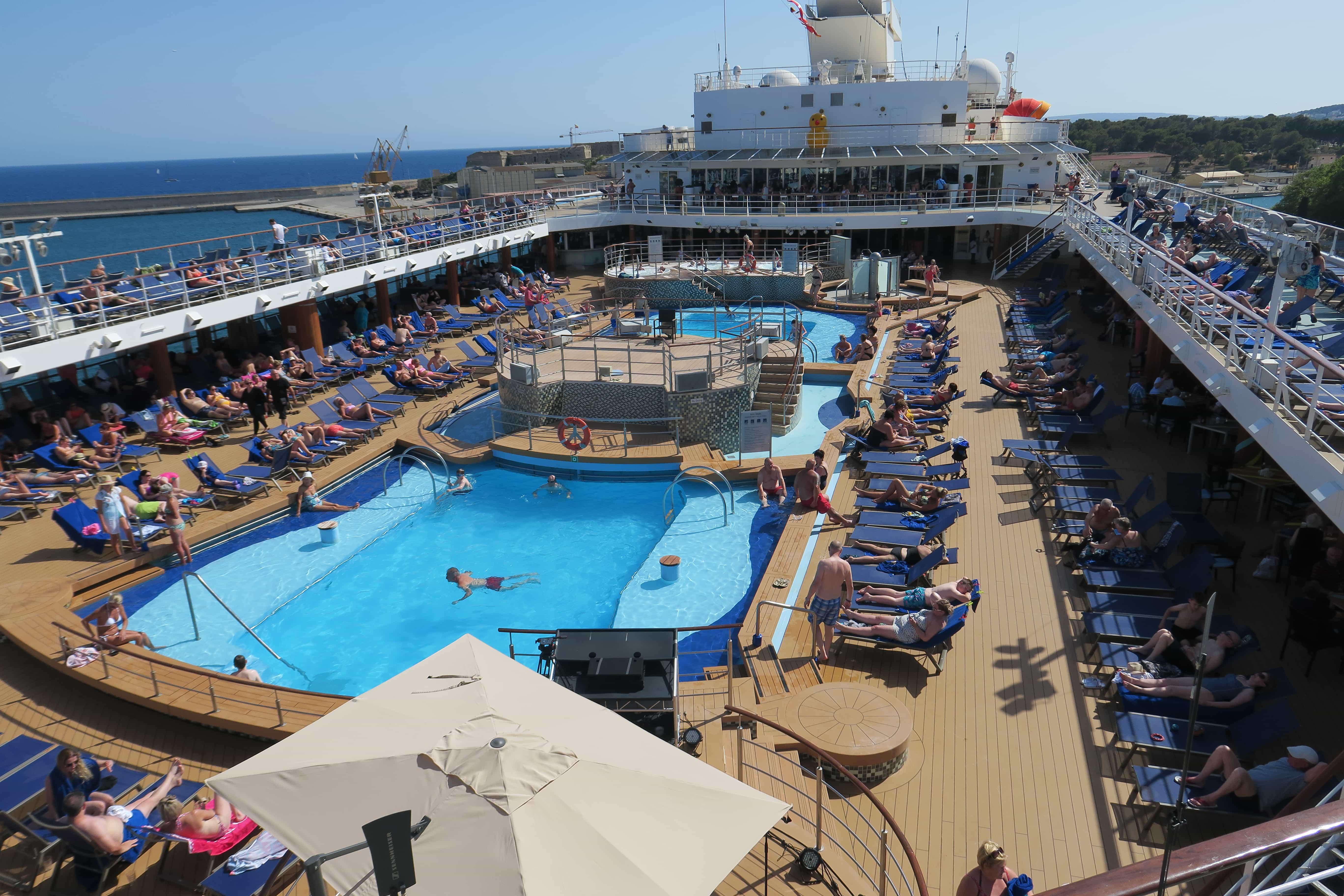 Marella Explorer Top Deck Pool