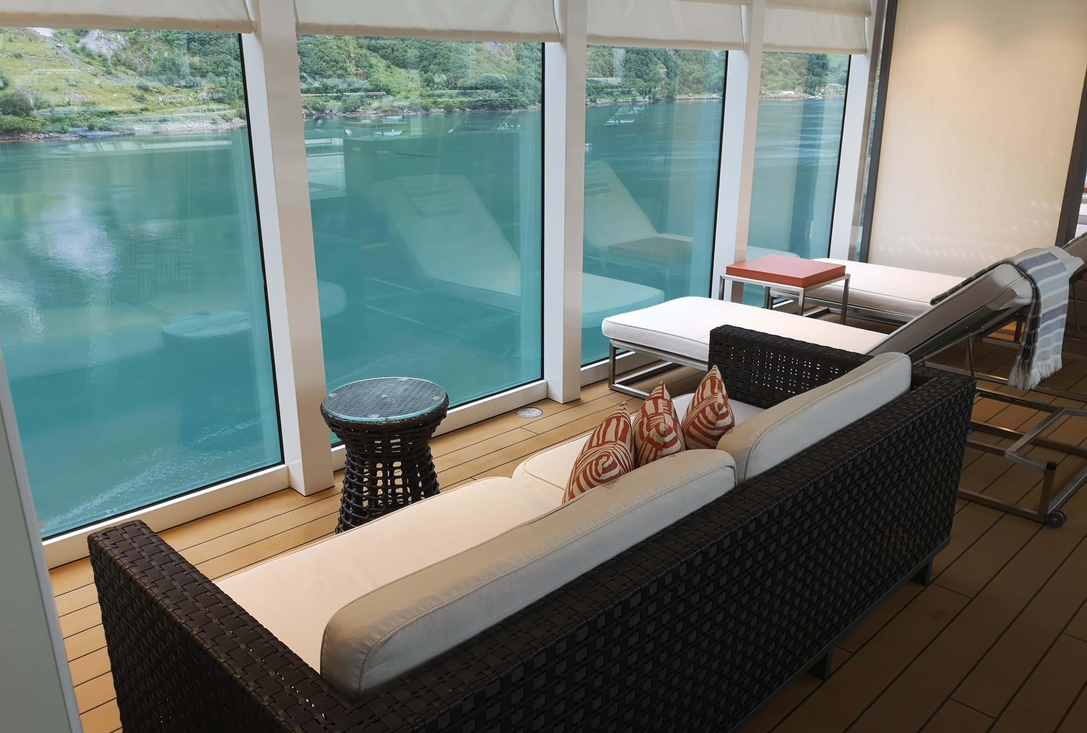 Viking Cruises Sea Sofa Sun Lounger Wifi