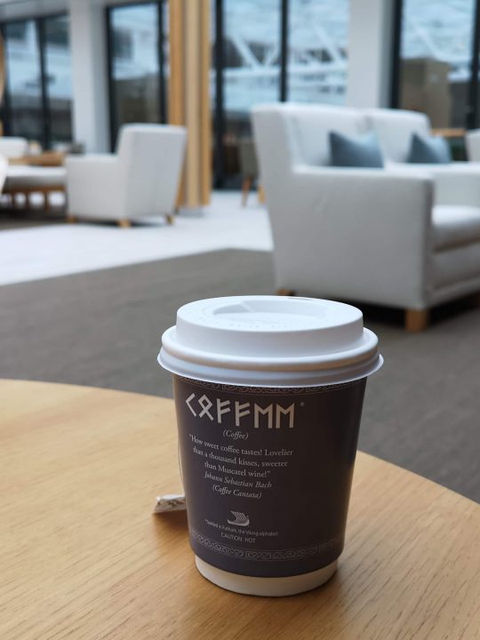 Viking Cruises Sea Tea and Coffee