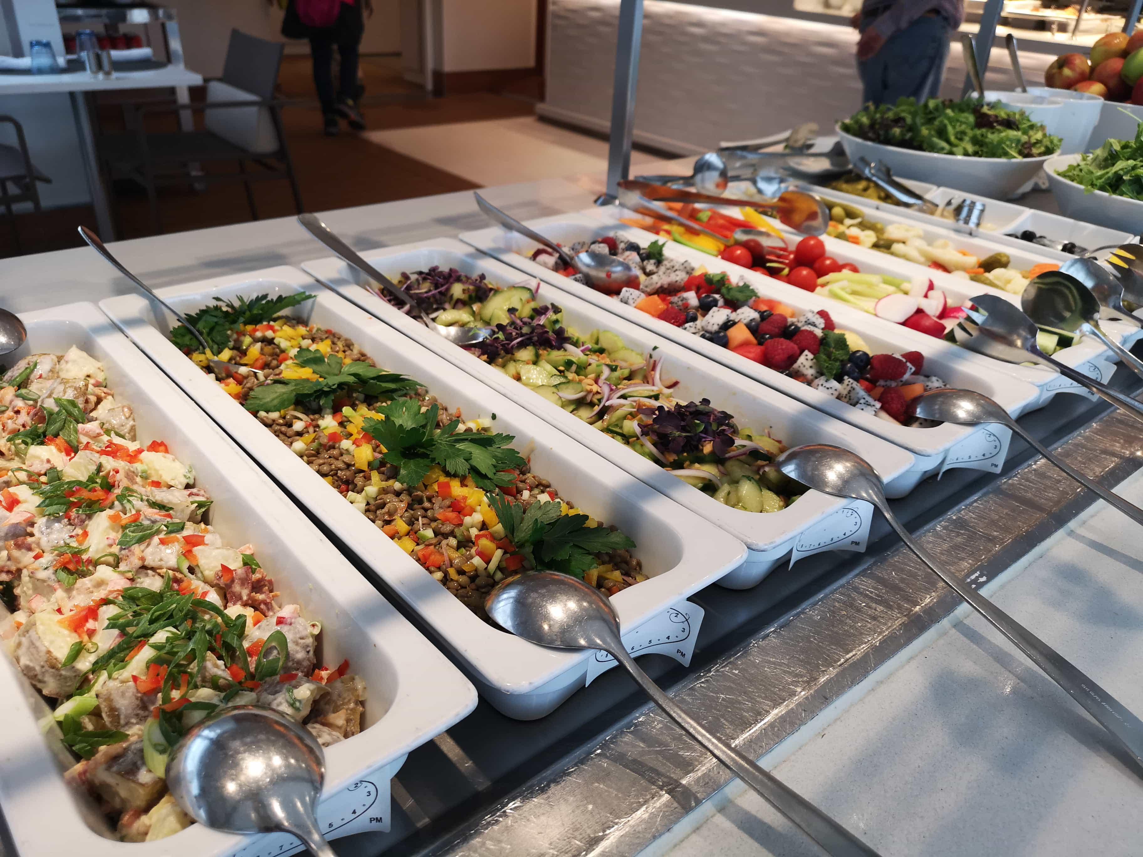Viking Cruises Sea - Pool Grill - Salad Bar
