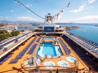 Marella Explorer Top Deck Cruise Ship