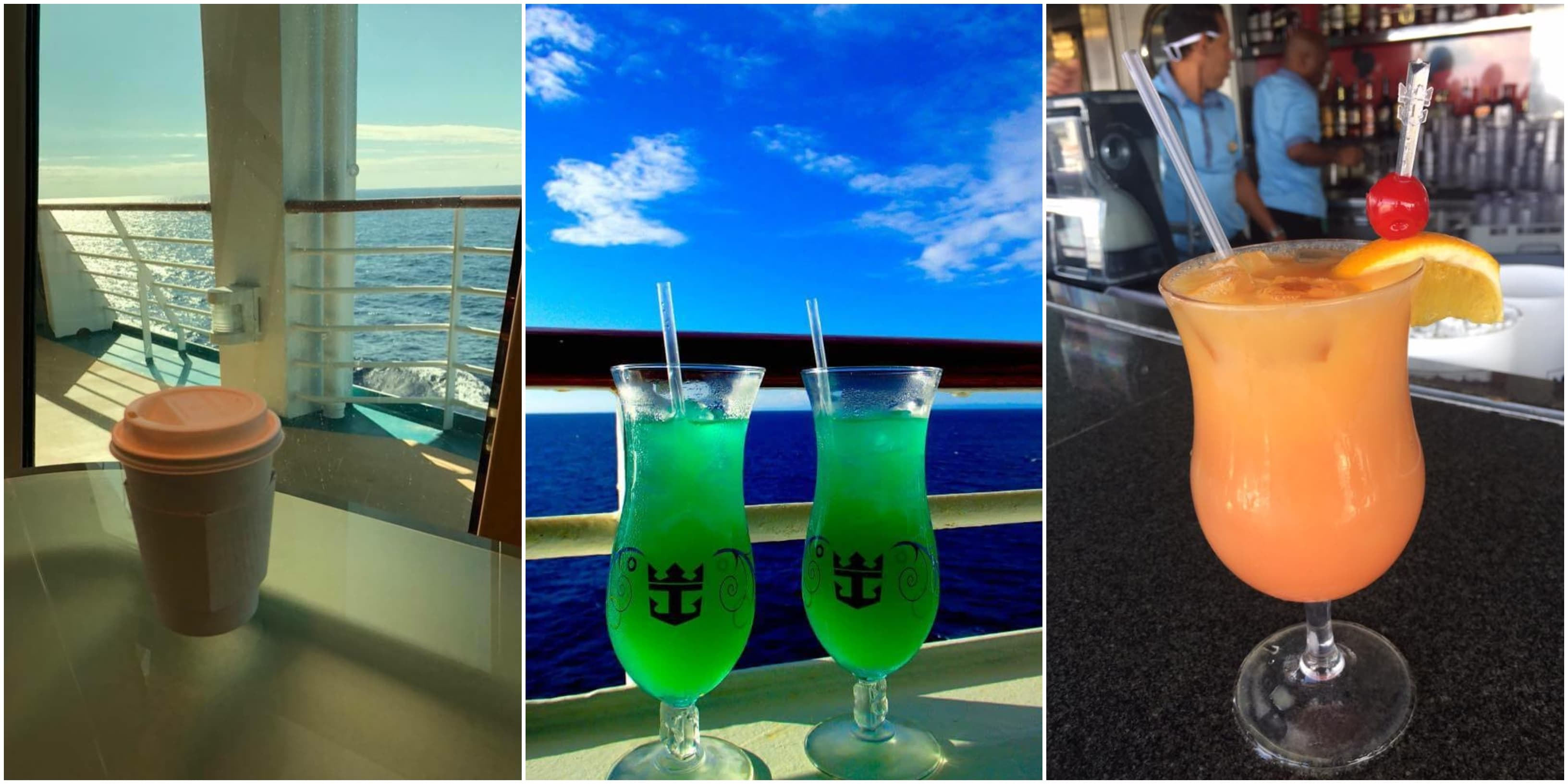 royal caribbean drinks cocktails
