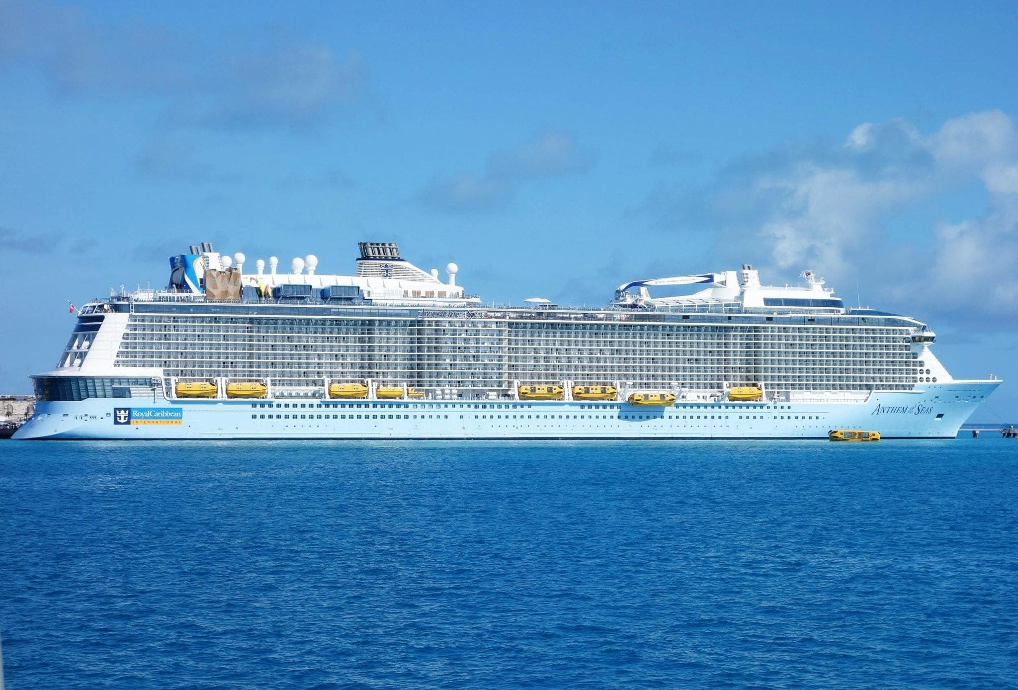Anthem of the Seas Bermuda Royal Caribbean Cruise Ship