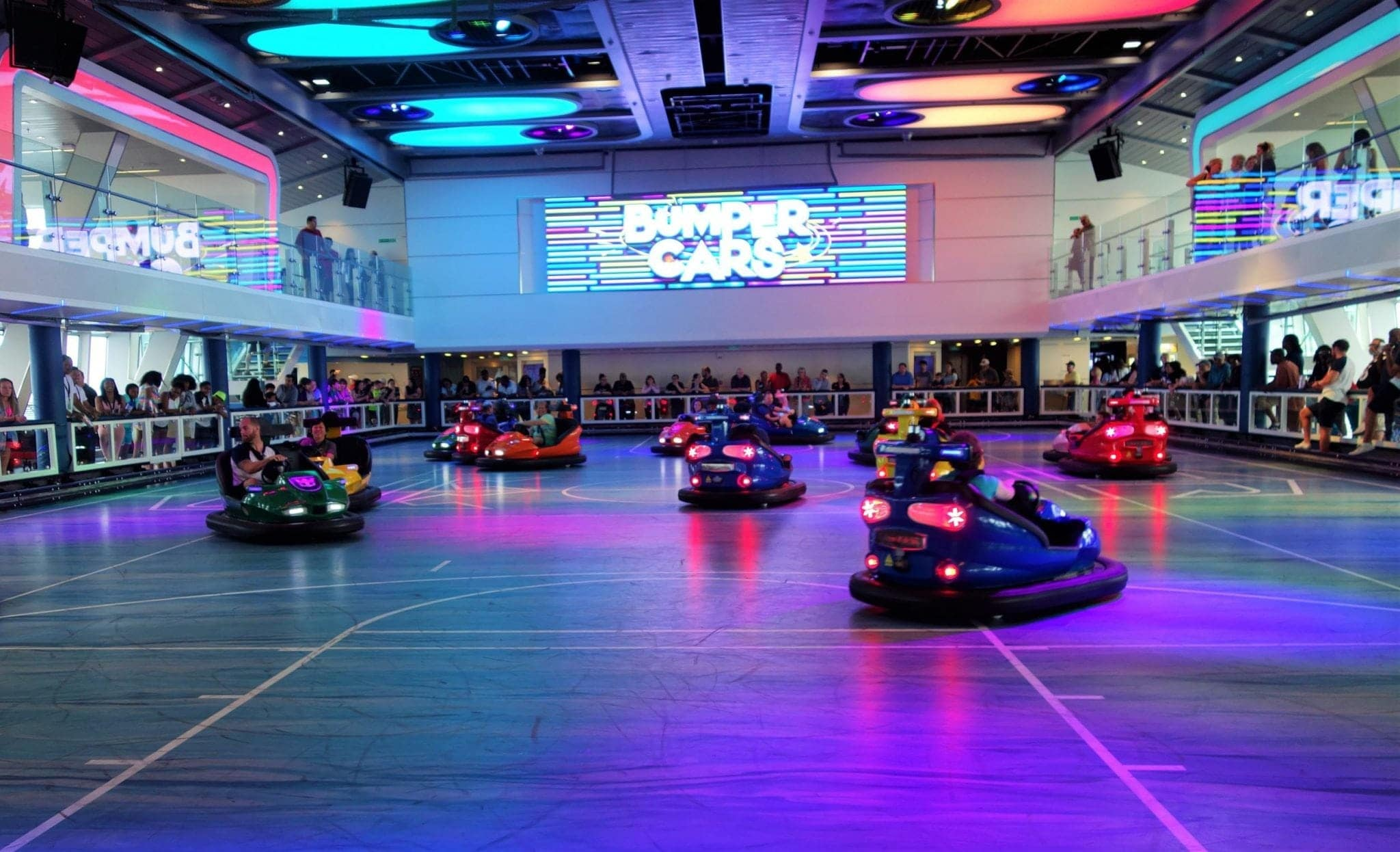 Bumper Cars Anthem of the Seas