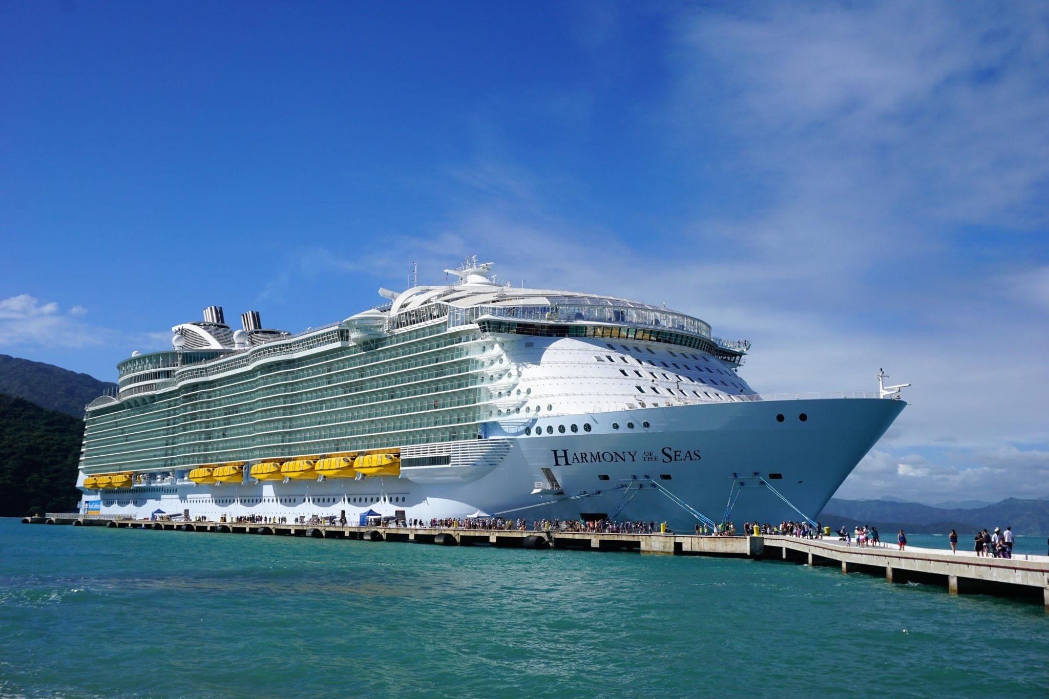 Harmony of the Seas Labadee Royal Caribbean Cruise Ship
