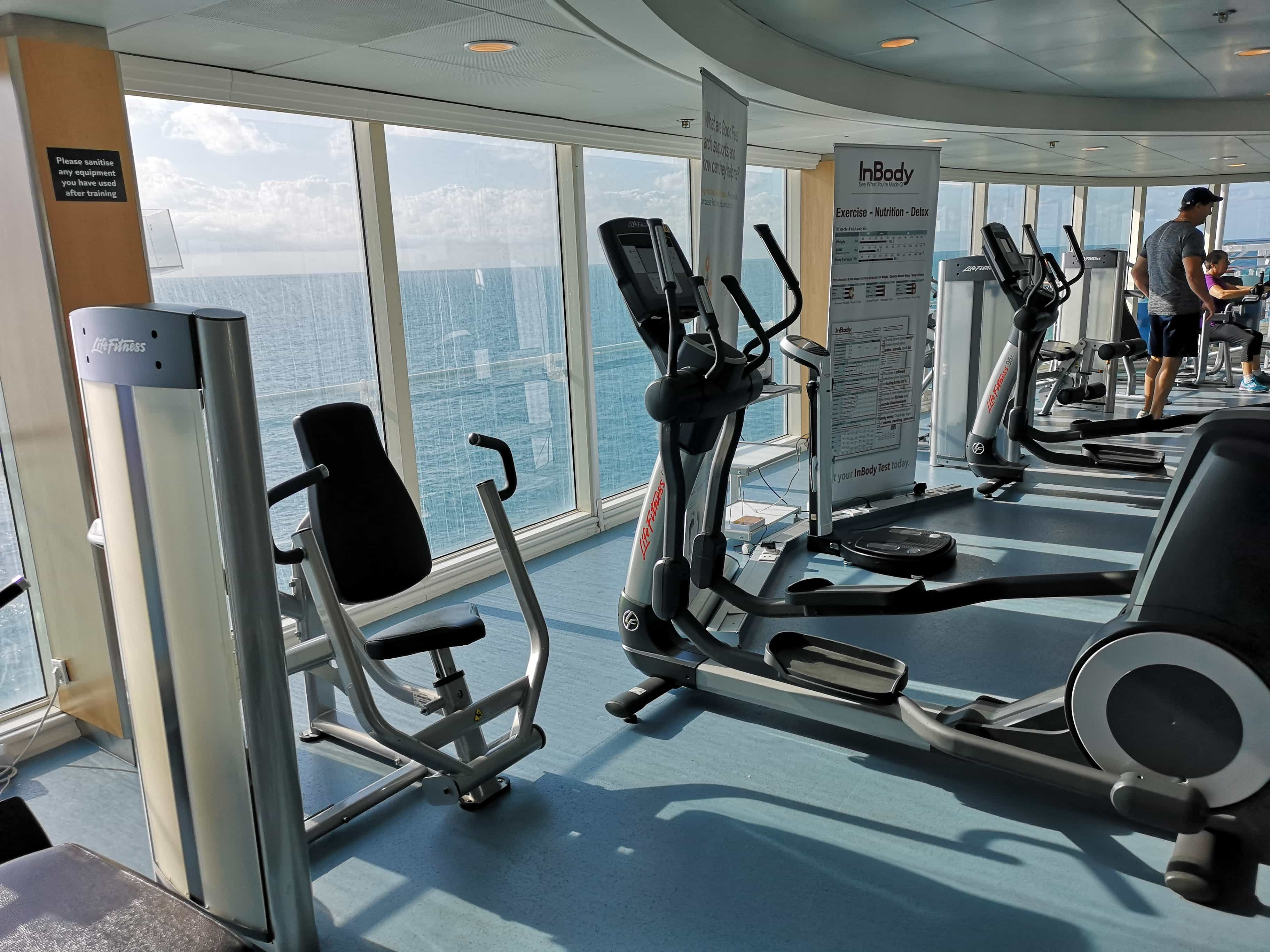 Marella Cruises Discovery Gym