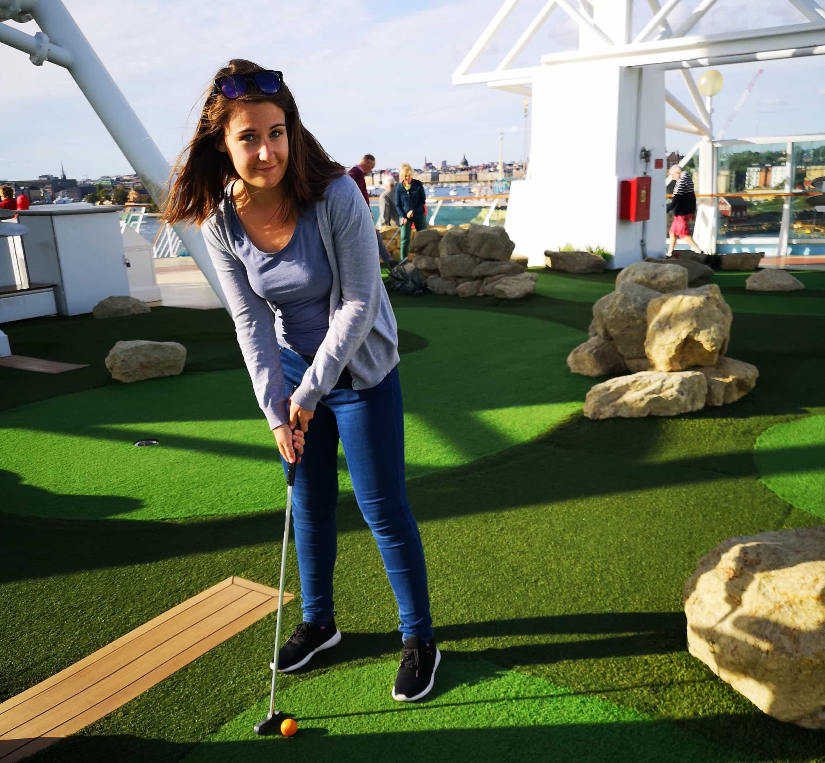 Marella Discovery Cruises Golf Course