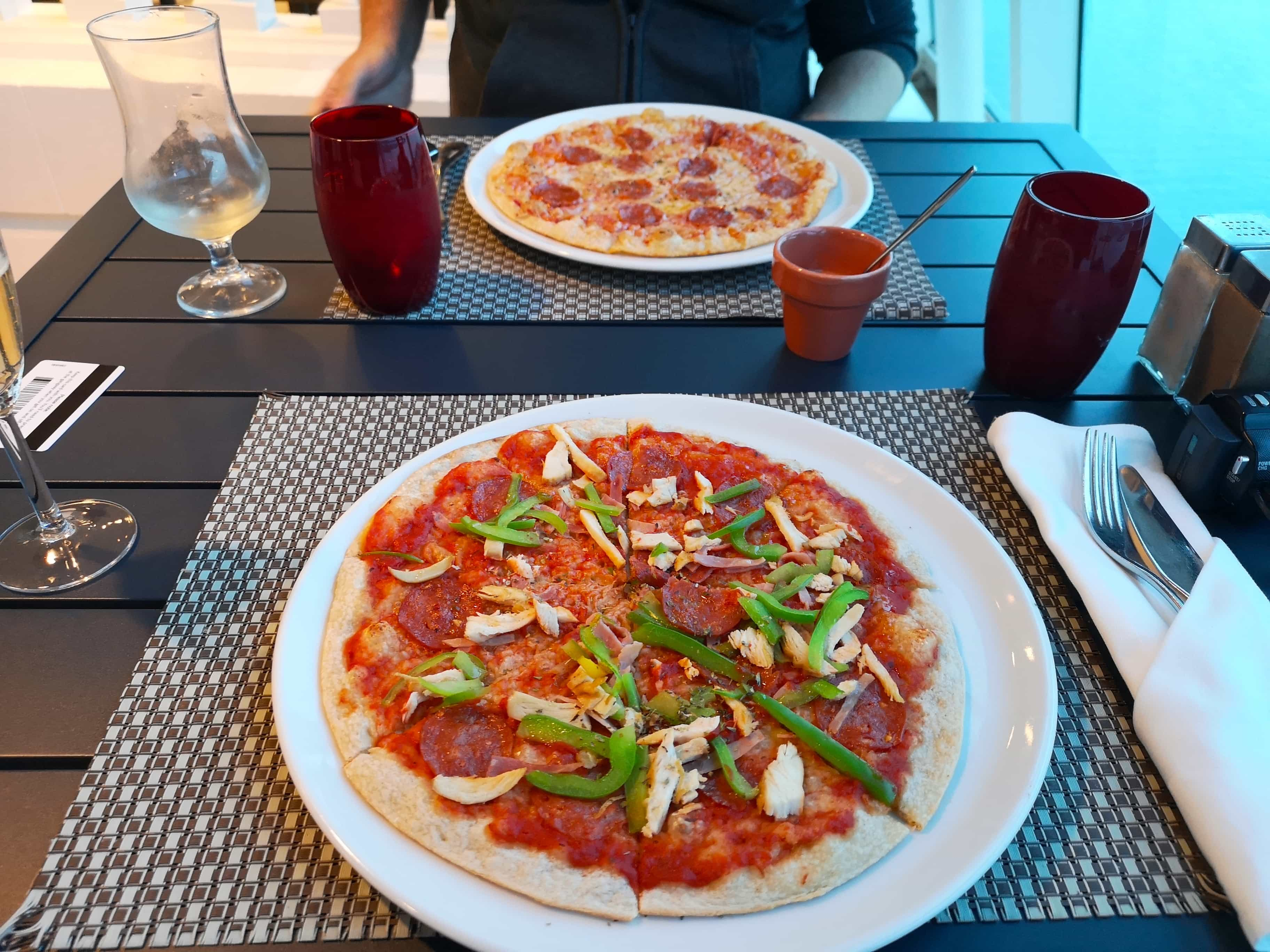 Marella Discovery Glass House Pizza