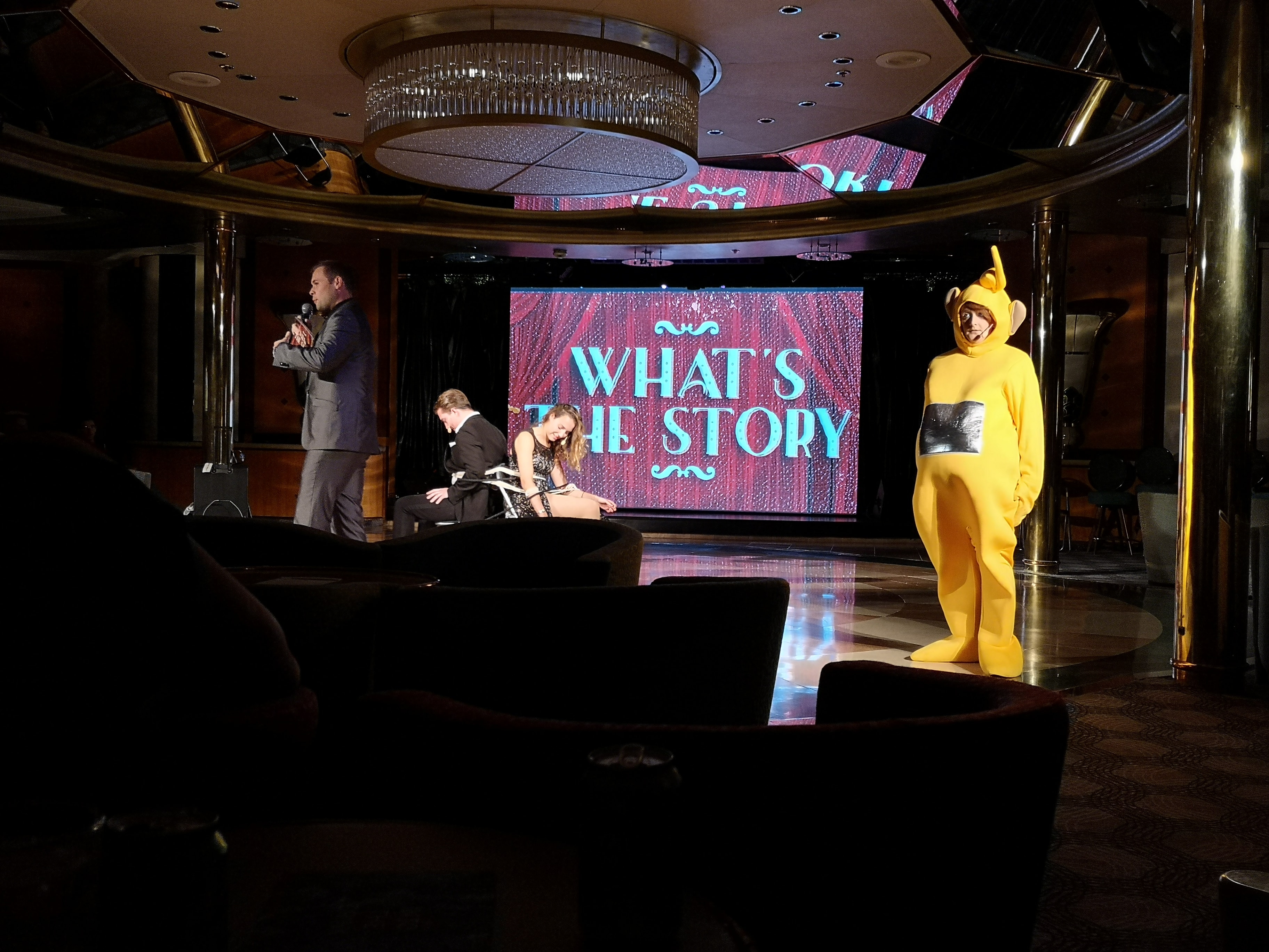 Marella Cruises Discovery Entertainment Whats the story gameshow venue
