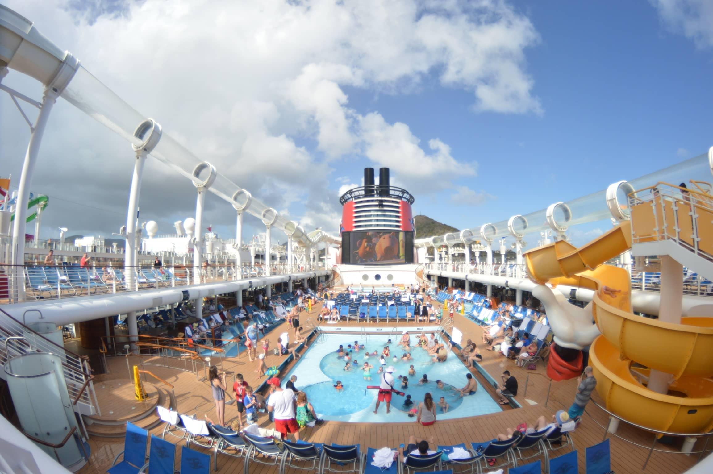 disney cruise line top deck