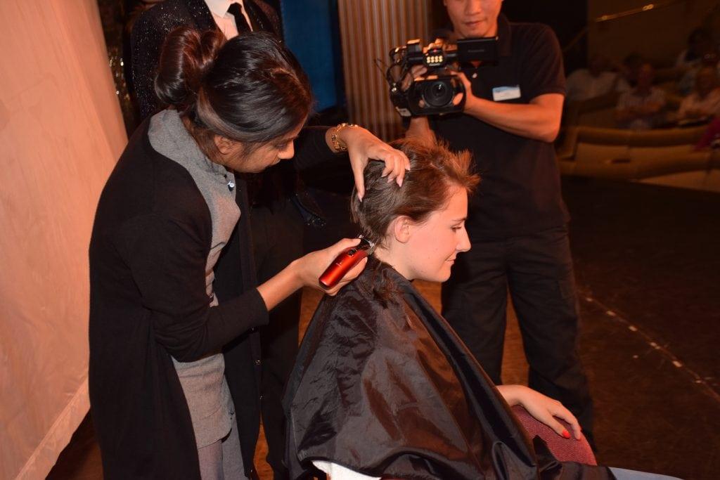 Emma Le Teace Brave The Shave Macamillan Marella Discovery