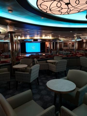 Marella Discovery Venue Lounge Chairs Tables Pre Refurb