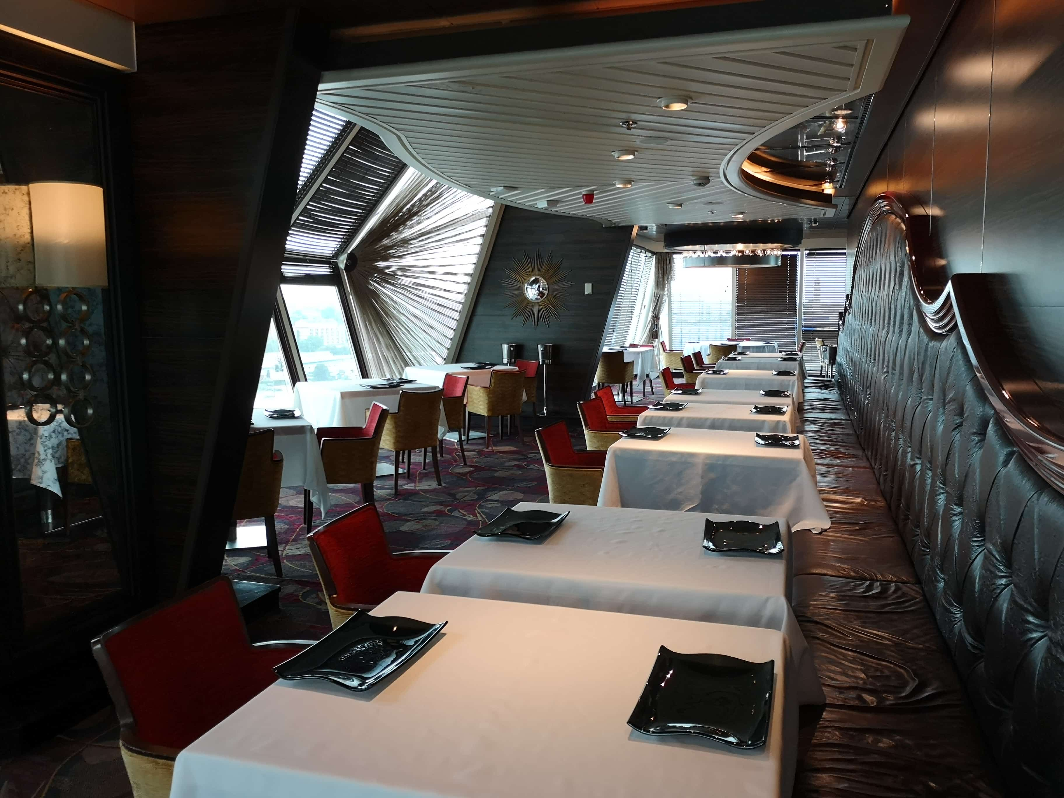 Marella Cruises Discovery Surf and Turf Steak Speciality Restaurant