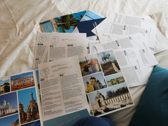 Marella Discovery Excursions Leaflets Planning Research