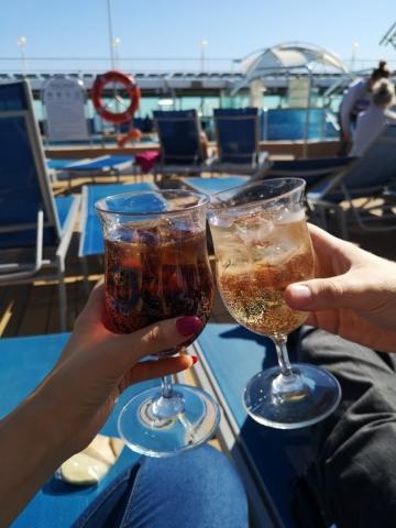 Marella Discovery Swimming Pool Drinks Soda Coke All Inclusive