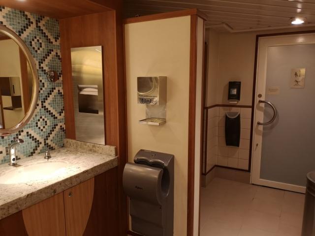 Marella Discovery Bathroom Hand Sanitiser  Santizer Washing Sinks