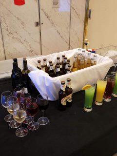 Marella Discovery All Inclusive Drinks outside theatre