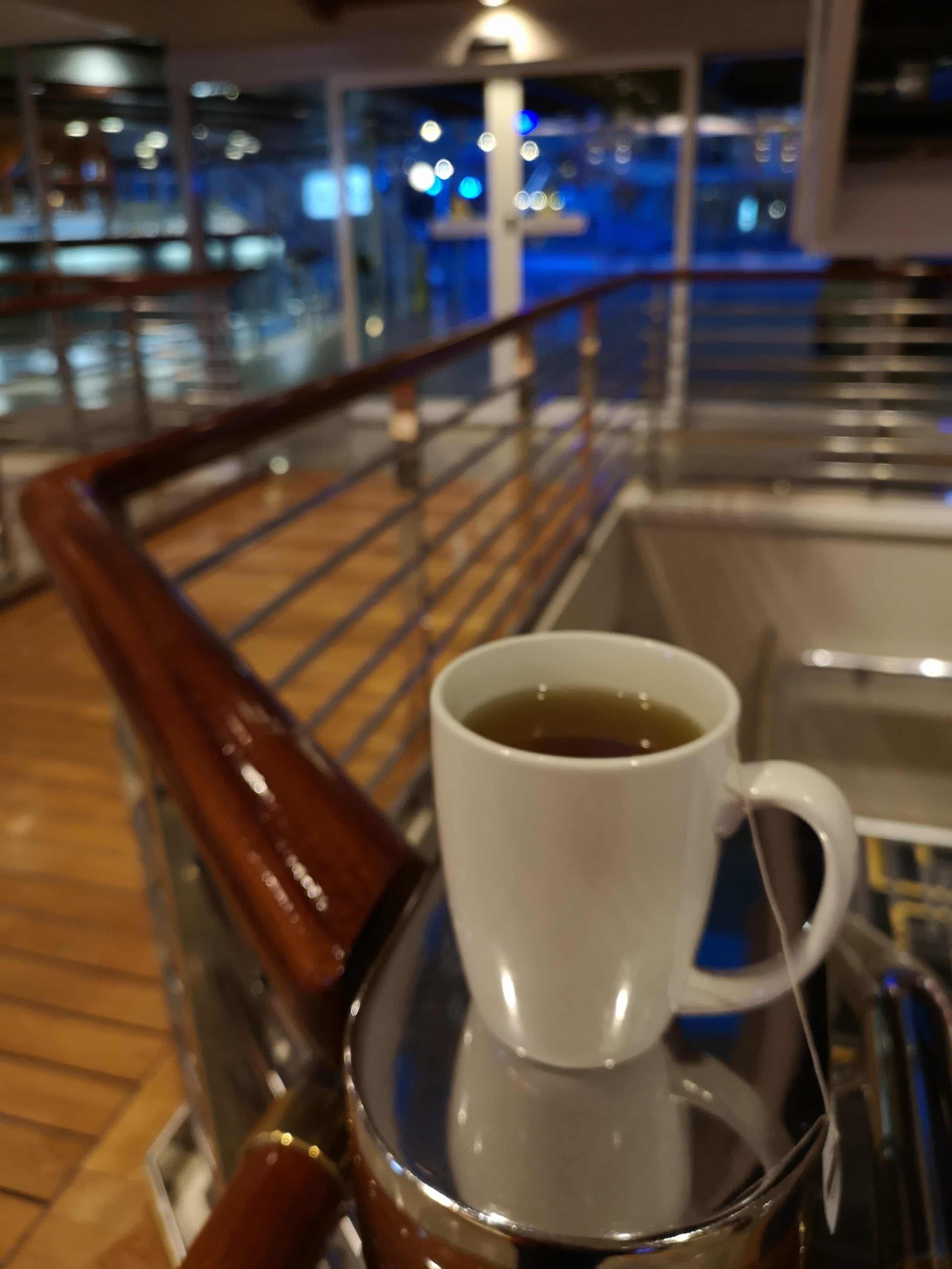 Marella Discovery Cup of Tea from the Buffet Twinings