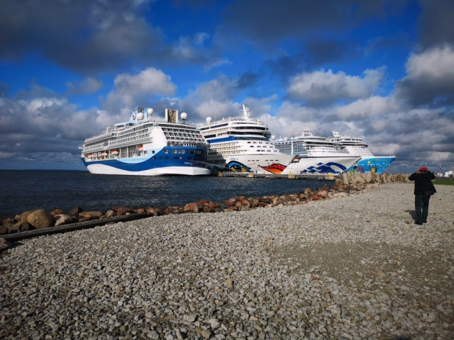 Marella Discovery AidaMar Sapphire Princess Norwegian Breakaway Tallinn Estonia