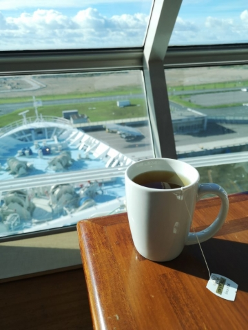 Marella Discovery Cup of Tea in Buffet Twinings