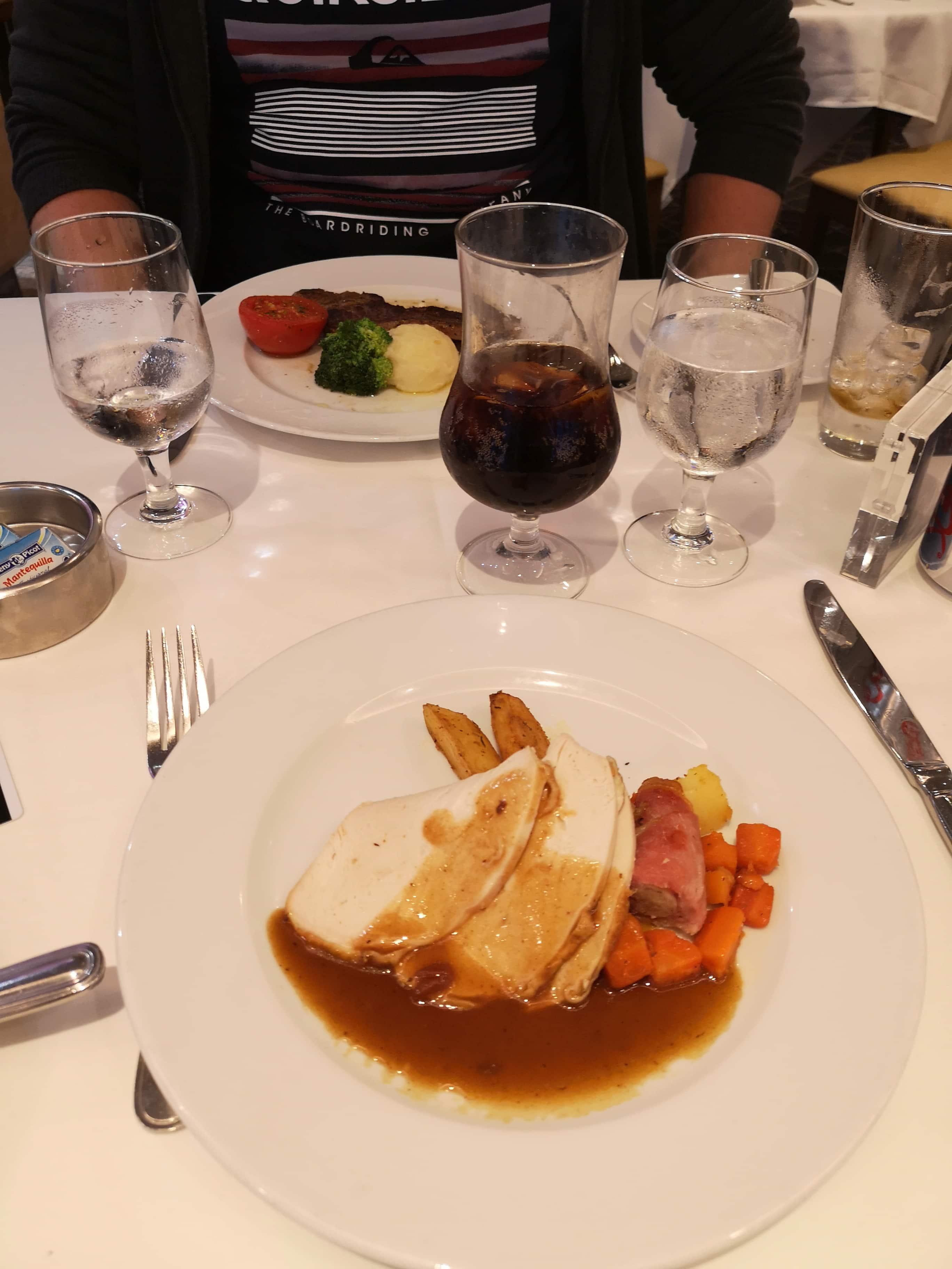 Marella Discovery Main Dining Room Turkey  47 degrees