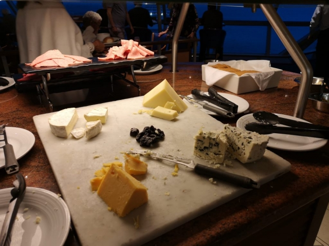 Marella Discovery Buffet Cheese