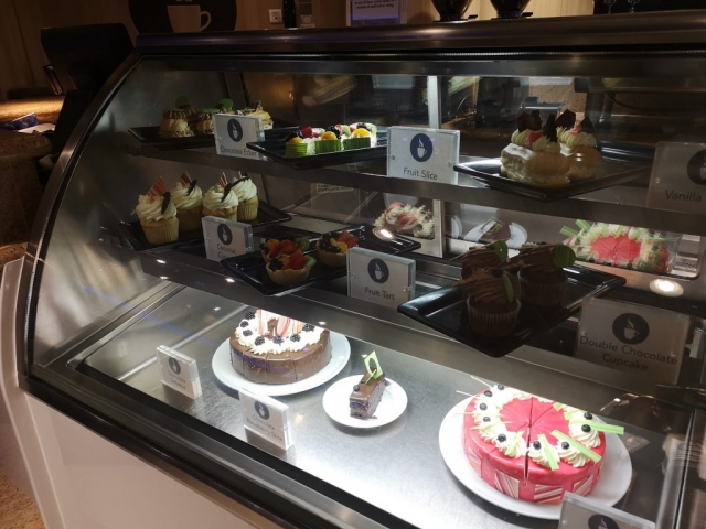 Marella Discovery Coffee Port Cakes (Extra charge)  not included