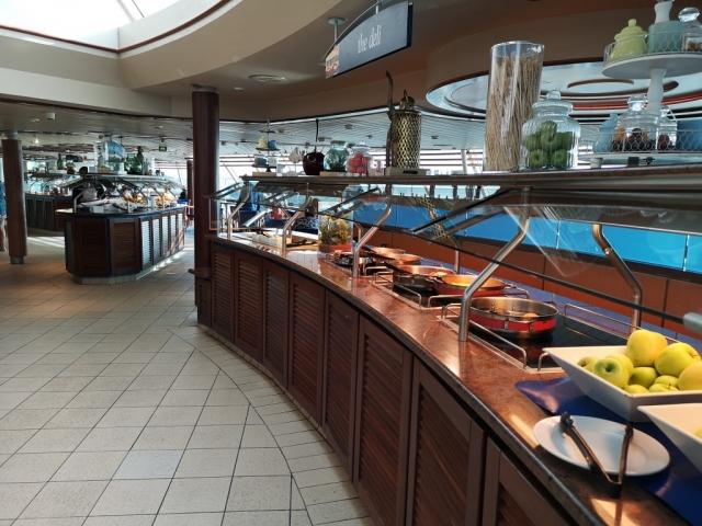 Marella Discovery Buffet the deli fruit food