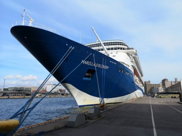 Marella Discovery Cruise Ship Hull