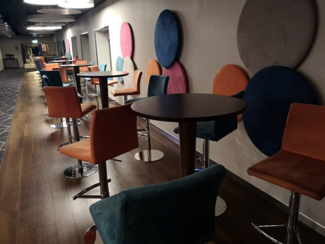 Marella Discovery Live room seating colourful trivia