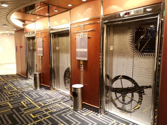 Marella Discovery Lifts Elevator