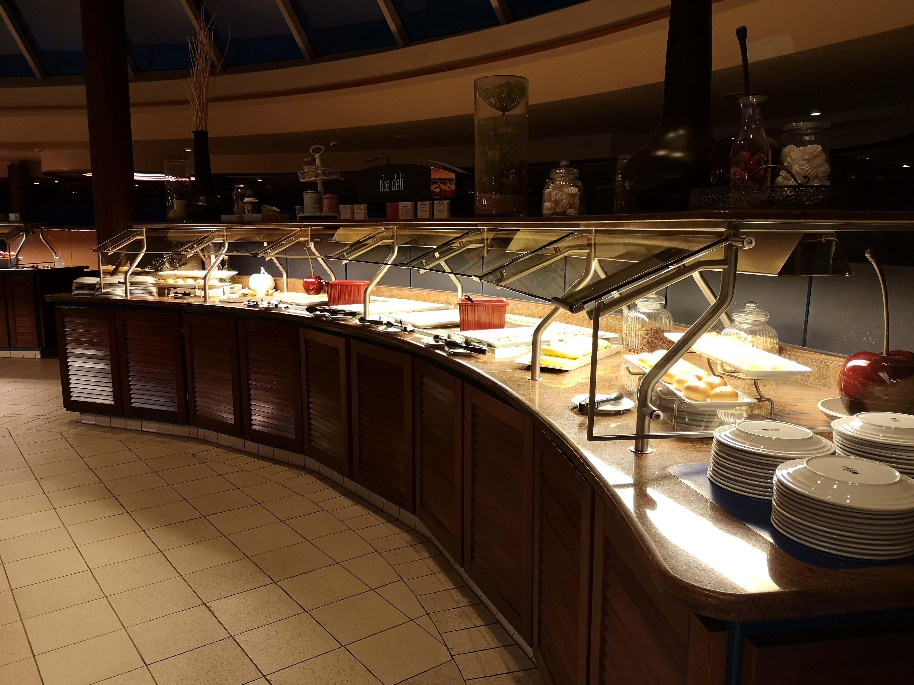 Marella Discovery Buffet food
