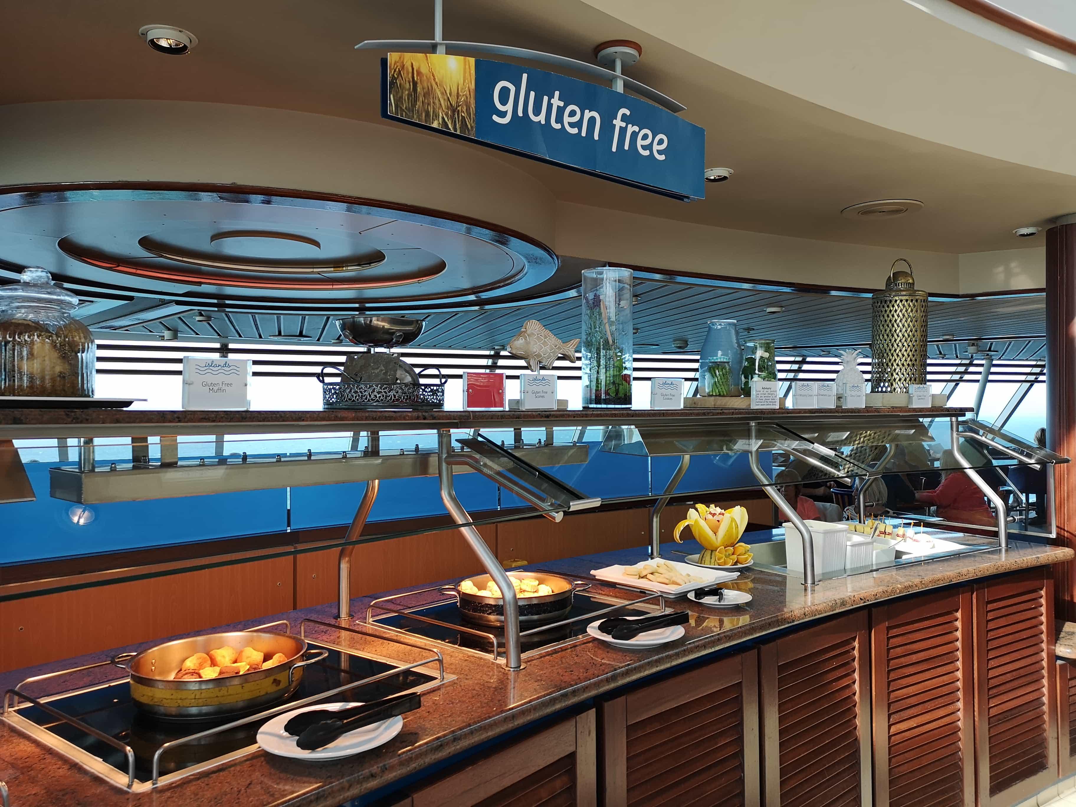 Marella Discovery Buffet Gluten Free