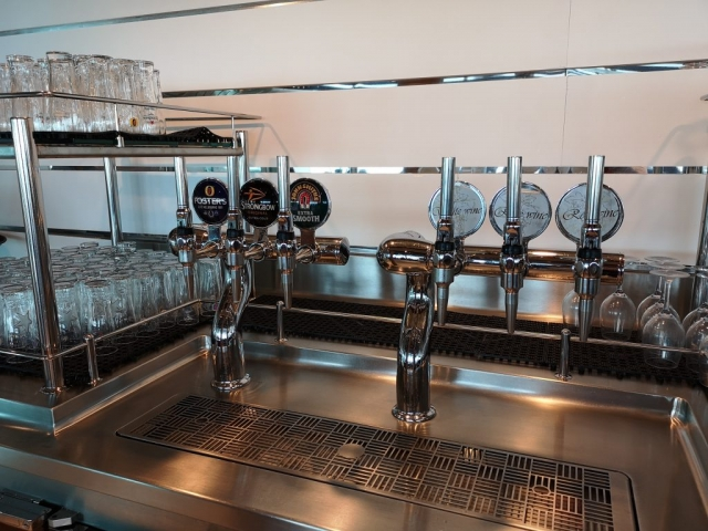 Marella Discovery Buffet Beer Wine  pour your own fosters strongbow john smiths