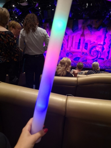 Marella Discovery Theatre Broadway Showlounge light up tube