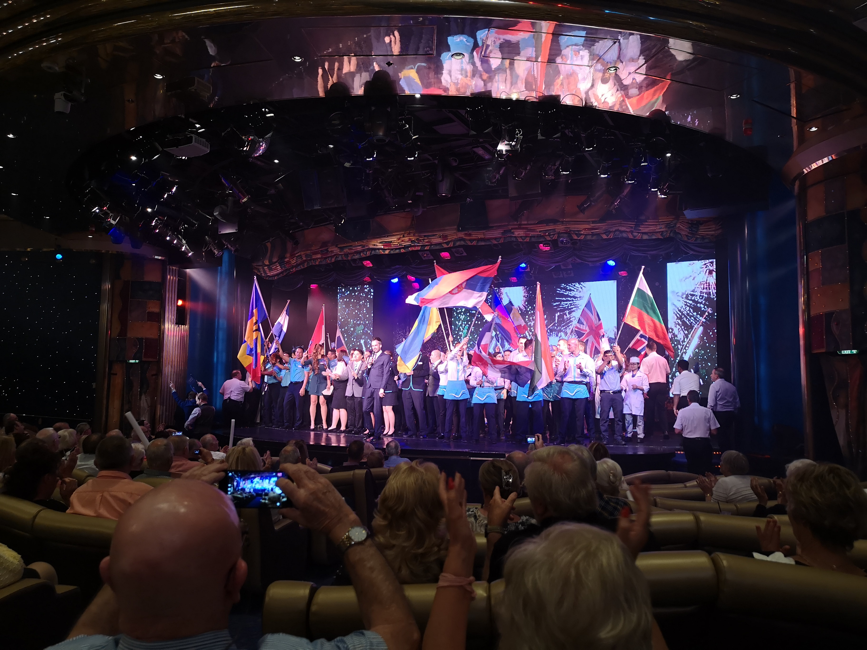 Marella Discovery Theatre Broadway Showlounge Entertainment Team