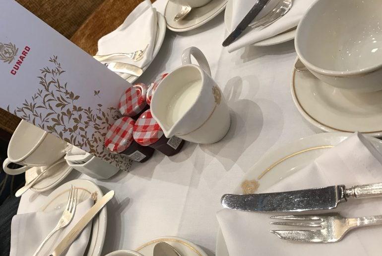 Cunard's Afternoon Tea