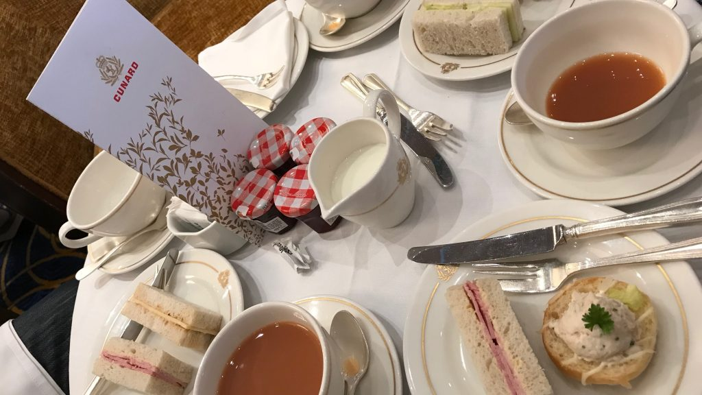 Cunard's Afternoon Tea