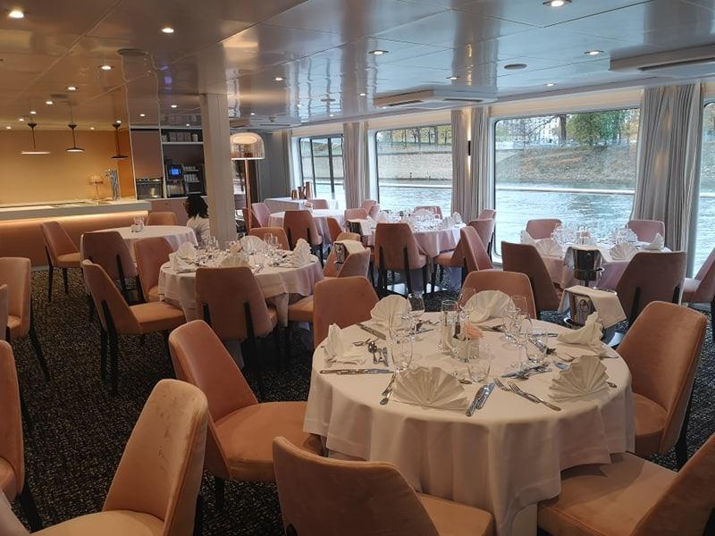 croisieurope renoir dining room river cruise ship
