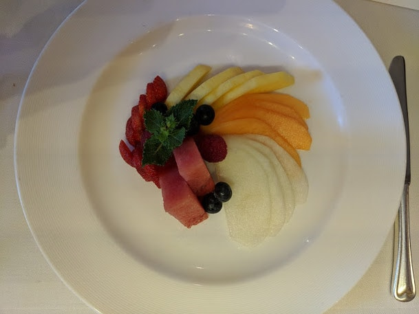 Princess Cruises Ship Shape Food Healthy Options Fruit Plate