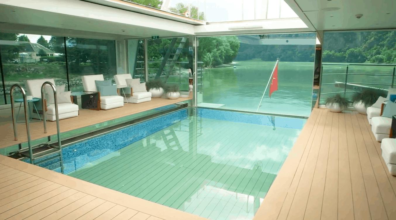 emerald waterways swimming pool cinema