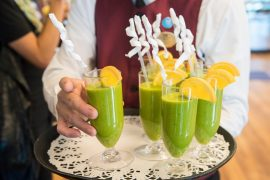 Princess Cruises Ship Shape Program Smoothies are included in the all inclusive drinks package
