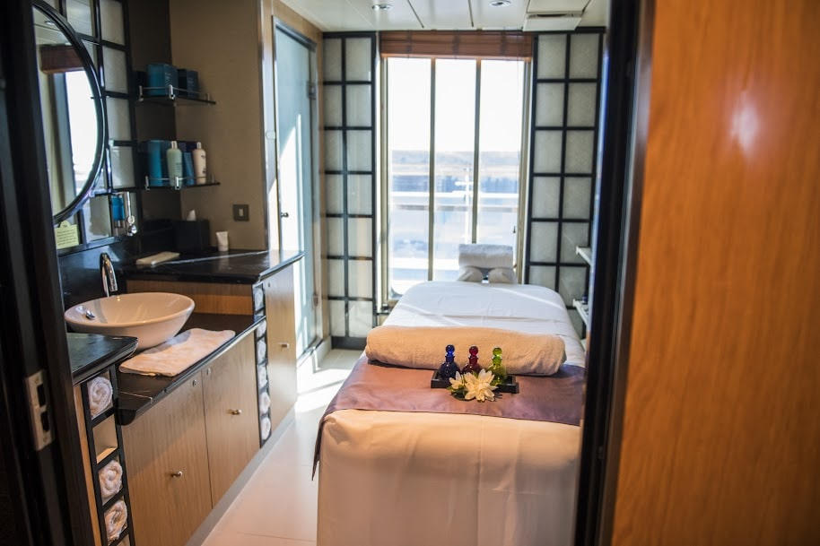 Massage Bed Princess Cruises Ship Shape Program Spa