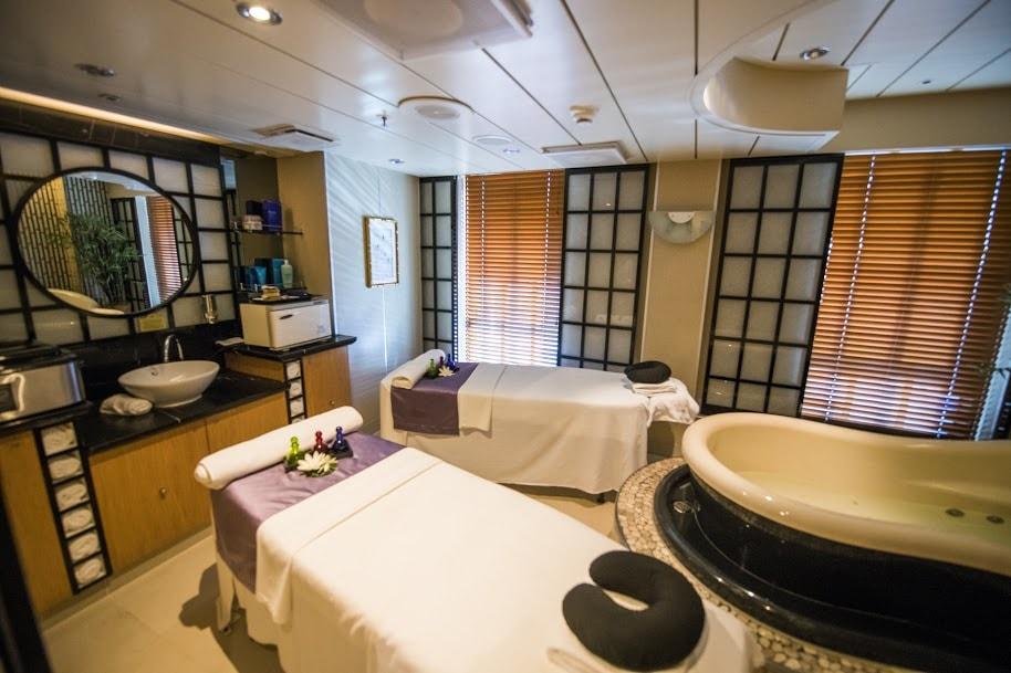 Princess Cruises Ship Shape Program Spa Couples Massage Pool